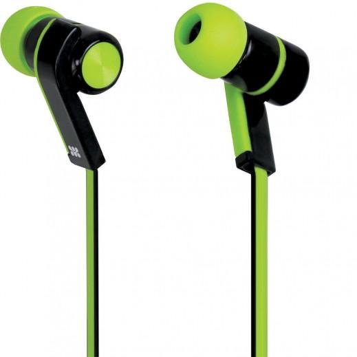 Promate Brazen Universal Sporty Stereo Earphones Green