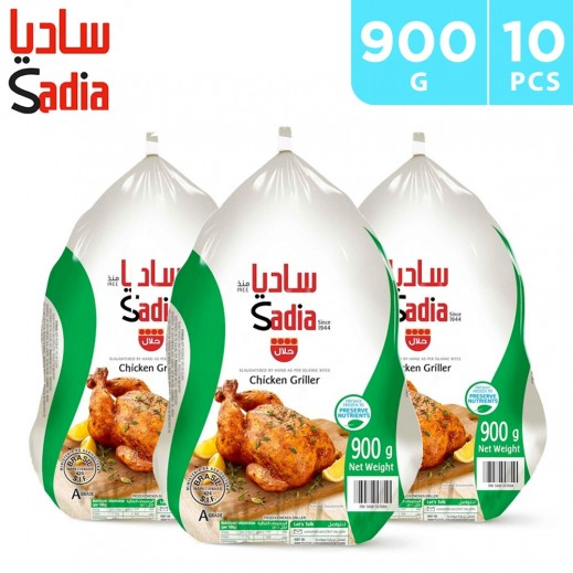 Sadia Whole Chicken Griller 10 x 900 g