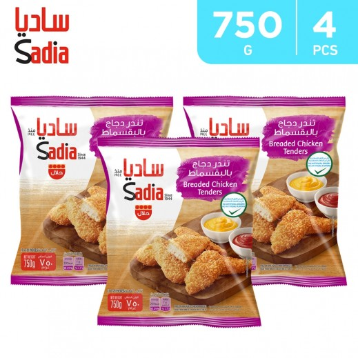 Sadia Breaded Chicken Tenders 4 x 750 g