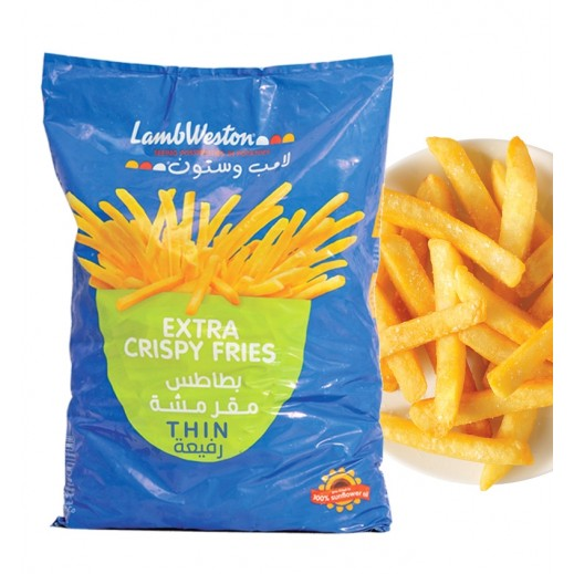Lamb Weston Extra Crispy Fries Thin 2.5 kg