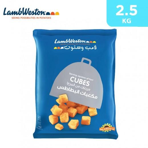 Lamb Weston Seasoned Crispy Cubes 2.5 kg