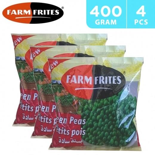 Farm Frites Frozen Green Peas 4 x 400 g