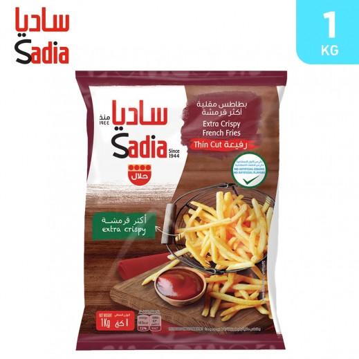 Sadia Frozen Extra Crispy Thin Cut French Fries 1 kg
