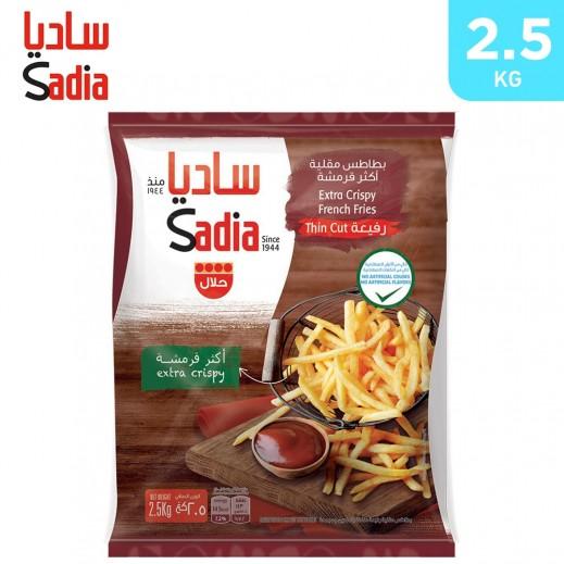 Sadia Frozen Extra Crispy Thin Cut 6/6 French Fries 2.5 kg