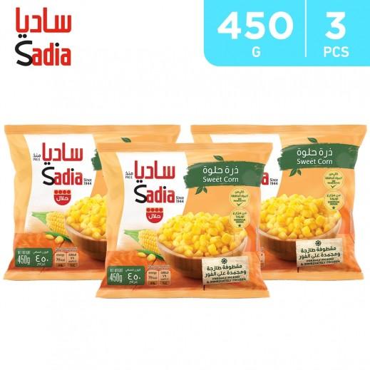Sadia Frozen Sweet Corn (3 x 450 g)