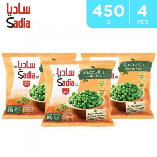 Sadia Frozen Garden Peas (4 x 450 g)