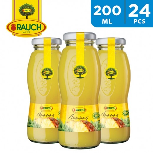 Rauch Pinapple Juice 24 x 200 ml