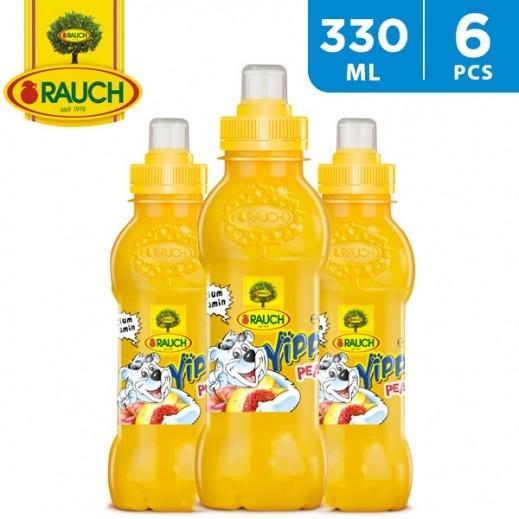 Rauch Yippy Peach Juice 6 x 330 ml