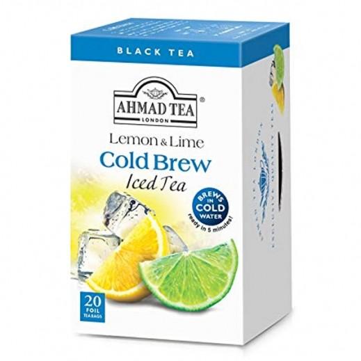 Ahmad Tea Chest Cold Brew Lemon & Lime 20 Bags