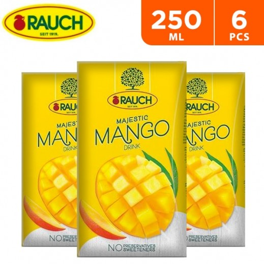 Rauch Majestic Mango Nectar 6 x 250 ml