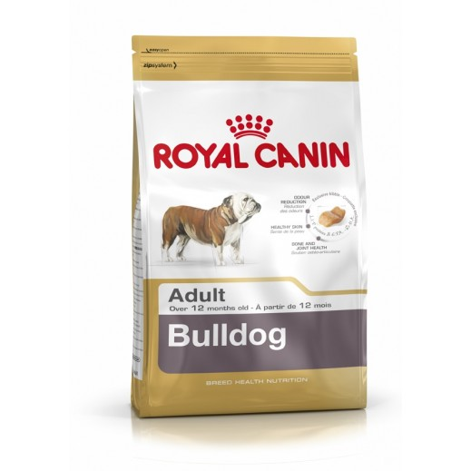 Royal Canin Breed Health Nutrition Bulldog Dog Food 12 kg