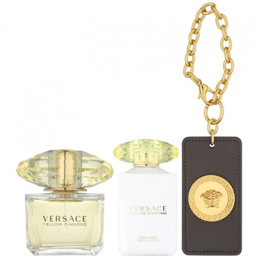 Buy Versace Yellow Diamond Gift Set For Her EDT 90 ml +Body Lotion ...