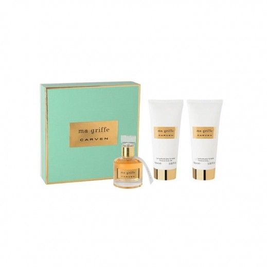 Carven Ma Griffe For Her EDP 100 ml + Shower Gel 100 ml + Body Lotion 100 ml - delivered by Beidoun