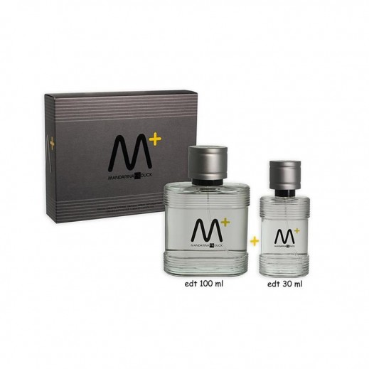 Mandarina Duck Man Intense Gift Set For Him EDT 100 ml + Mini 30 ml - delivered by Beidoun after 4 Working Days