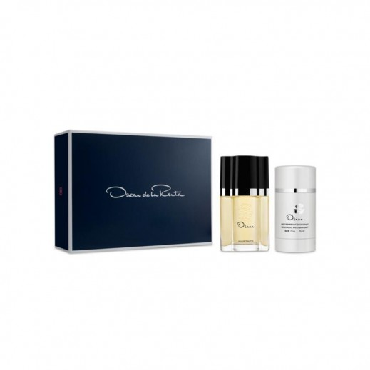Oscar De La Renta Gift Set for Her EDP 50 ml + Deodorant 75 ml - delivered by Beidoun after 4 Working Days