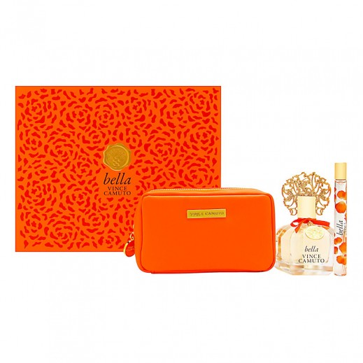 Vince Camuto Bella Gift Set For Her EDP 100 ml + EDP 10 ml + Pouch - delivered by Beidoun after 4 Working Days