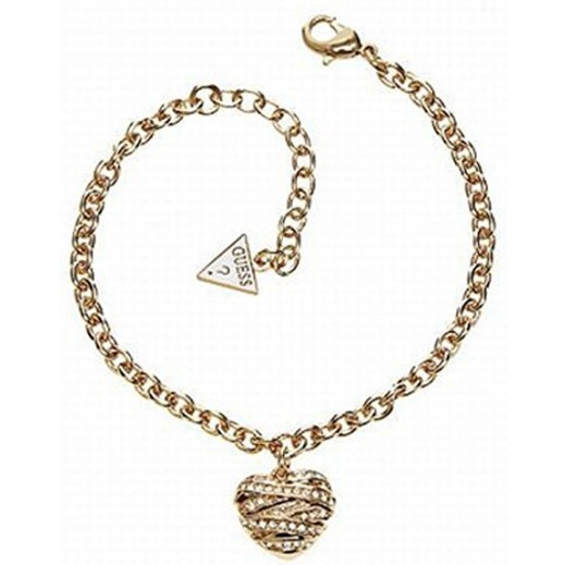 Guess Small Heart Bracelet Large Gold Color - delivered by Beidoun Within 2 Working Days