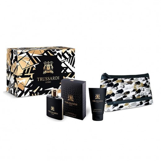 Trussardi Uomo Streetcar Beauty Set For Him EDT 100 ml + Shower Gel 100 ml + Toiletry Bag - delivered by Beidoun