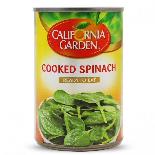 California Garden Cooked Spinach 397 g