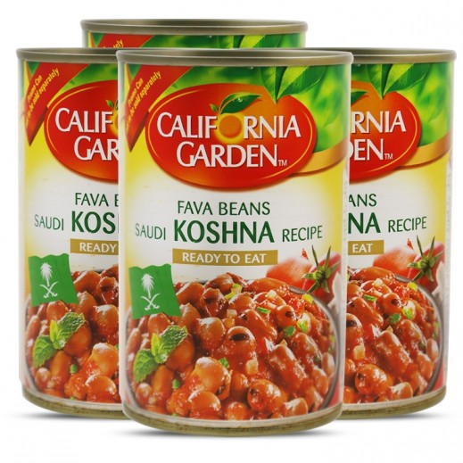 California Garden Fava Beans Saudi Recipe 4x450 g (Prom)