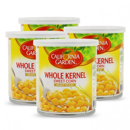 California Garden Whole Kernel Sweet Corn 200 g (3+1 Free)