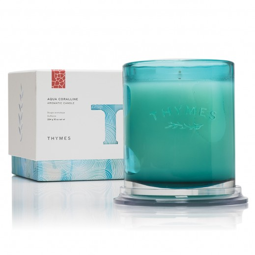 Thymes Aqua Coralline Aromatic Candle 284 g