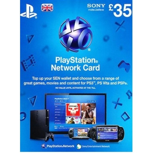 £35 Playstation Network Card - UK Store