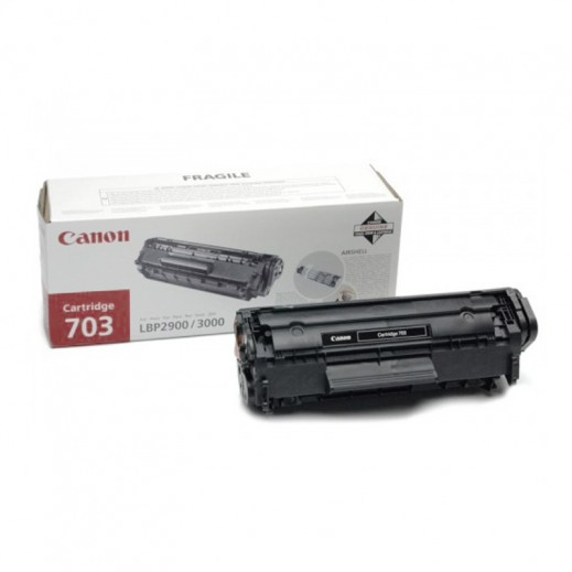 Canon Monochrome 703 Black Laser Cartridge