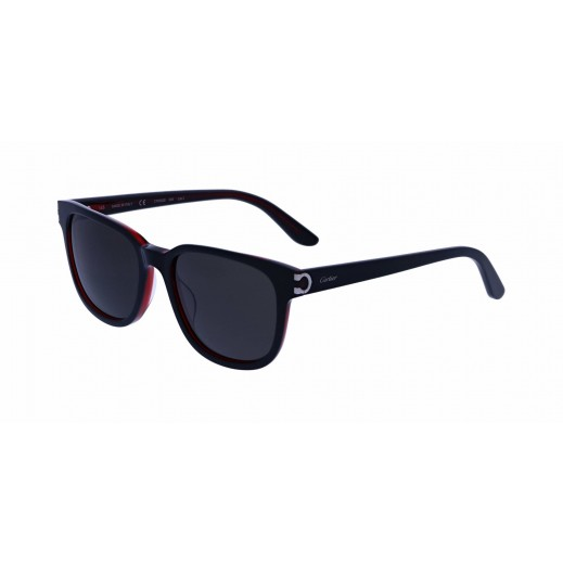 Cartier Santos Ruthenium Aviator Grey Lenses Men Sunglasses - delivered by Waleed Optics