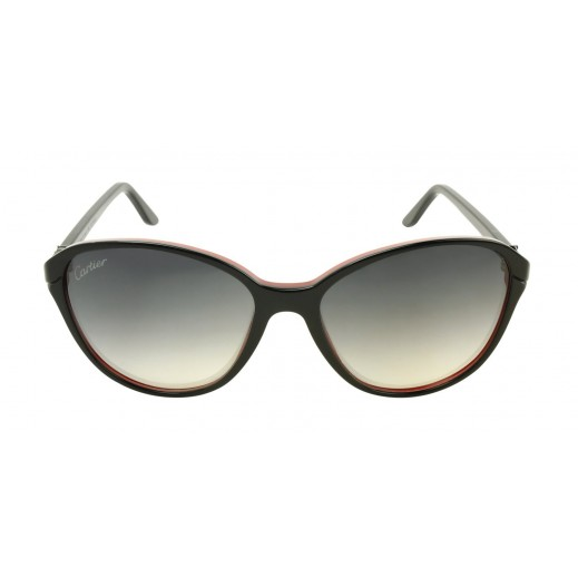 Cartier Double C Black Ladies Sunglasses - delivered by Waleed Optics