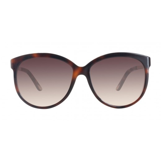 Cartier Tortoise Shiny Gold Champagne Ladies Sunglasses - delivered by Waleed Optics