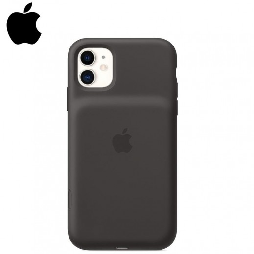 Apple Smart Battery Case with Wireless Charging for iPhone 11- Black
