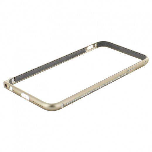 Mahaza Diamond Bumper For Iphone 6 Gold