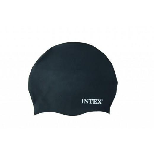 Intex Silicone Swim Cap Black (Age 8 Plus)