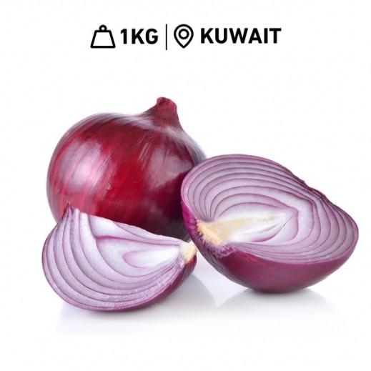 Fresh Kuwaiti Red Onion (1kg Approx)