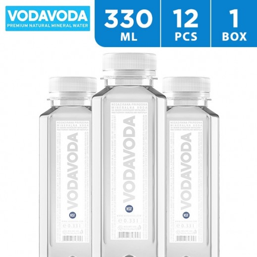 Vodavoda Natural Mineral Water Plastic  12 x 330 ml