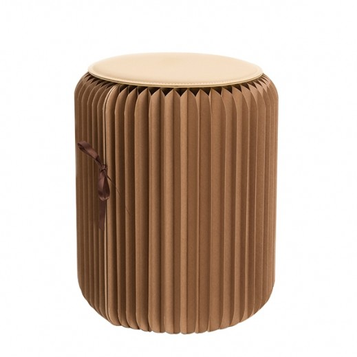 Waba Foldable Paper Chair - Brown