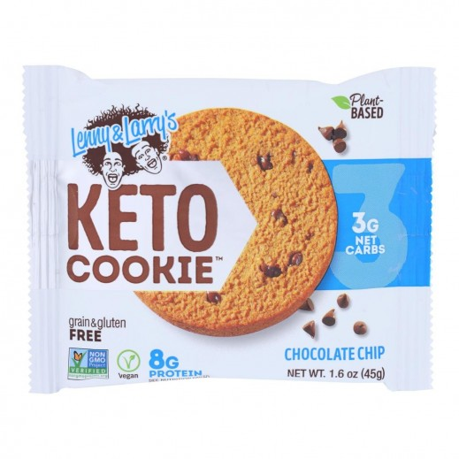 Lenny & Larry's Gluten Free Chocolate Chips Keto Cookie 45 g