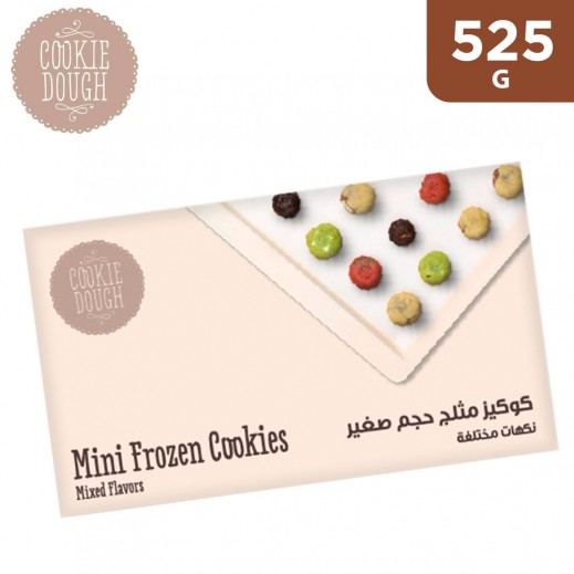 Cookie Dough Mixed Flavour Mini Frozen Cookie Dough Balls 525 g