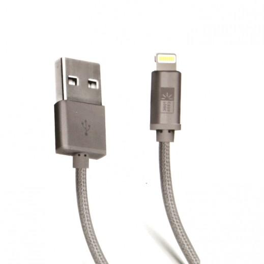 Case Logic Lightning Braided MFI Cable 3m - Grey