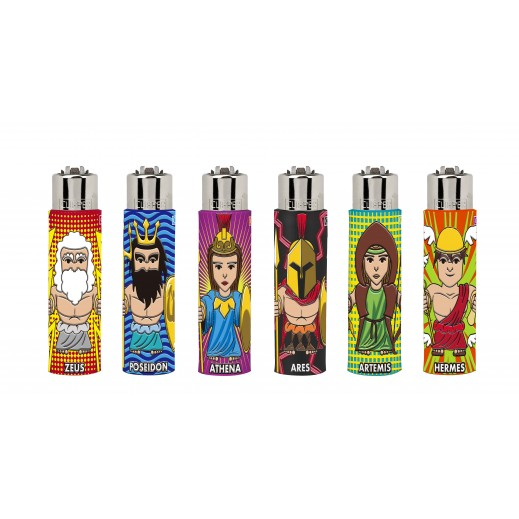Clipper Pop Cover Lighter (Mixed Designs 1 Piece)