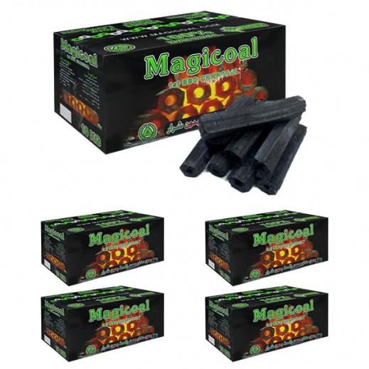 Wholesale - Magicoal Premium Charcoal 5 x 10 kg