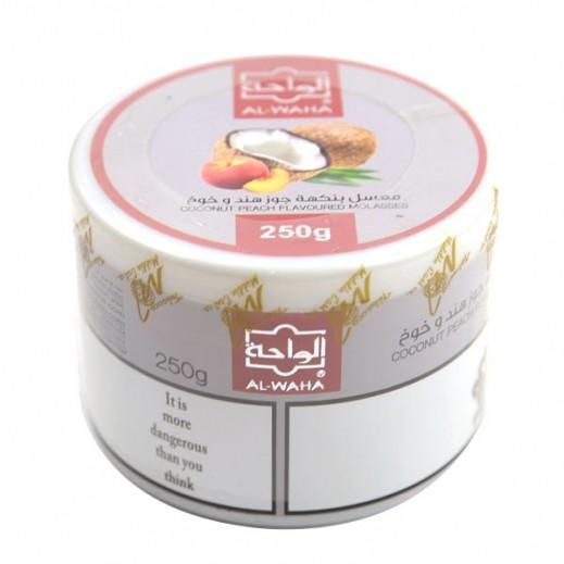 Al-Waha Coconut Peach Flavoured Molasses Tobacco 250 g
