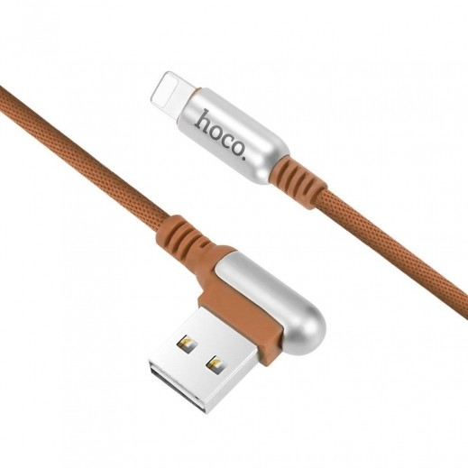 Hoco Lightning Cable 1.2M - Coffee
