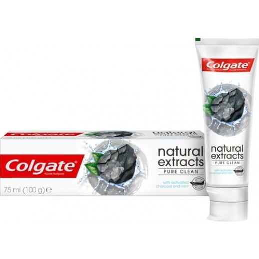 Colgate Natural Extracts Deep Clean with Activated Charcoal Toothpaste 75 ml