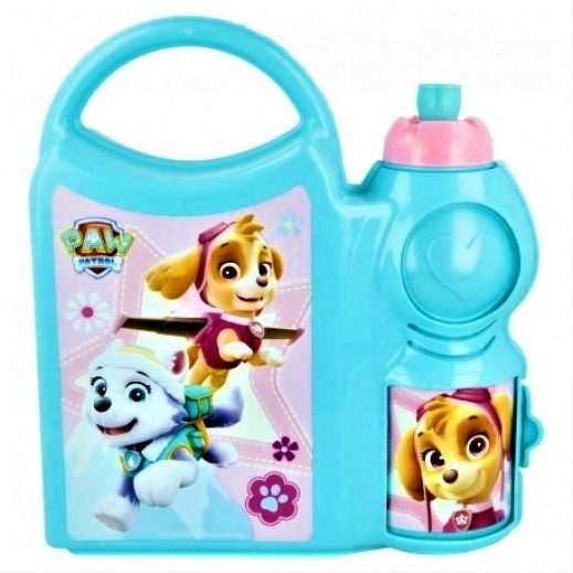 Paw Patrol Girls Combo Lunch Box with Bottle 400 ml