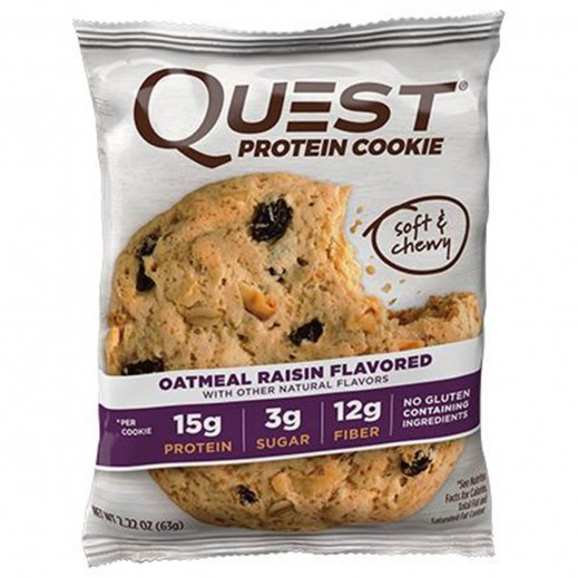 Quest Protein Cookie Oatmeal Raisin 59 g