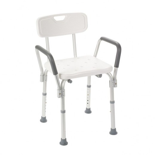 Virtus Shower Chair Removable Wrist & Thumbles & Back Ca355 L - delivered by Al Essa Company