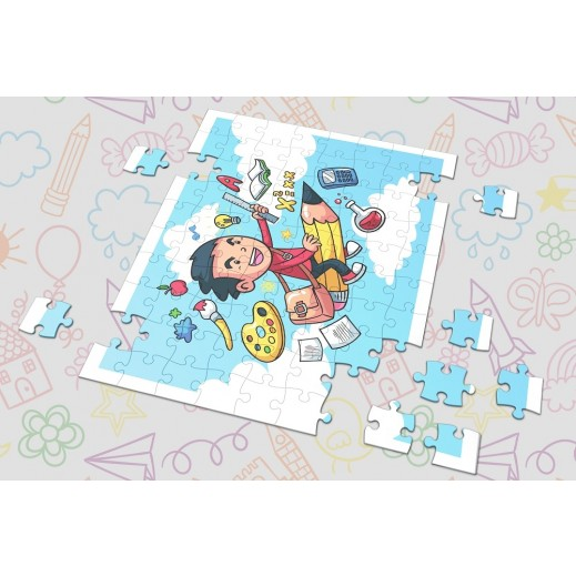 Boy Design Puzzle From Berwaz.com - delivered by Berwaz.com