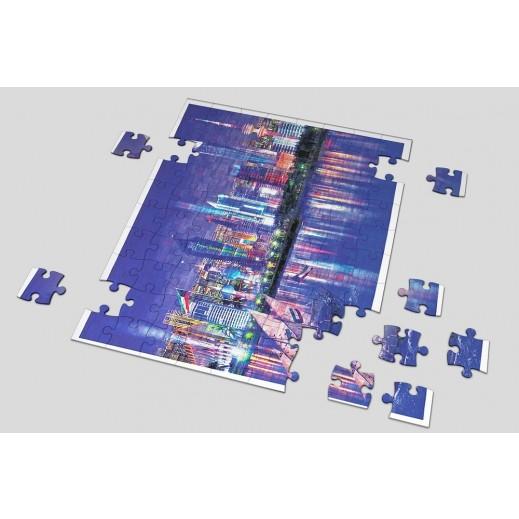 Kuwait City Puzzle - delivered by Berwaz.com